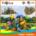 professional made antique playground equipment for kids with playhouse in air playground