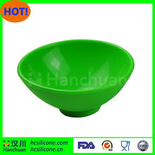 Professional unbreakable microwave safe silicone bowls for wholesales