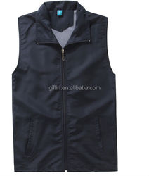 Quality Custom Printed or Embroidery sleeveless fly fishing vest