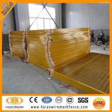 Anping ISO factory Canada outdoor uesd temporary fence