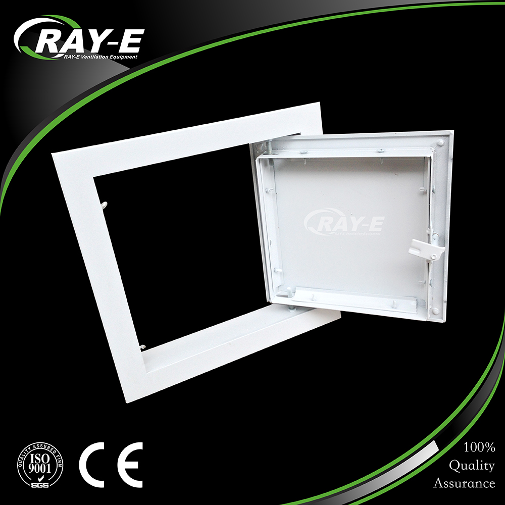 guangzhou low price sheet metal ceiling duct air conditioner access panel access door
