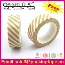 copper foil adhesive tape,colorful rice paper tape with free samples offer