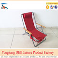 Durable outdoor advertising beach chair back