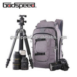 2018 dslr newly pro fashionable camera bags cases with tripod laptop