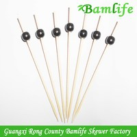 Top quality promotional cakes ball bamboo sticks