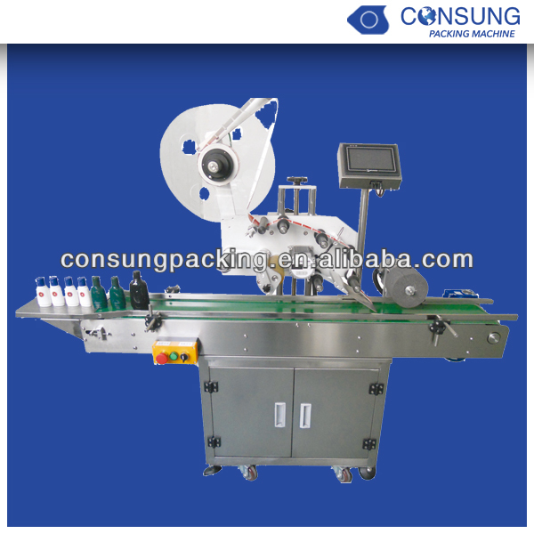 automatic labeling machine for ball point pen