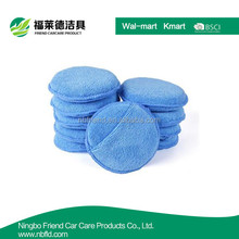 Factory supply Microfiber foam sponge Pocket Wax Applicator