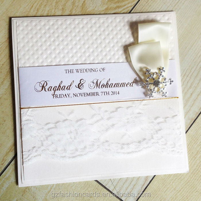 2015 Hot Sale Unique Luxury Kerala Wedding Cards | Muslim Wedding Cards | Arabic Wedding Cards