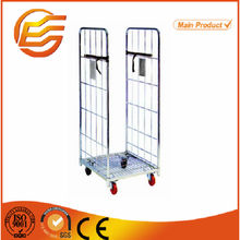 Wire Warehouse Cages/Steel Galvanized Mesh Stillages/Stackable Metal Bins