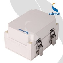 Saip / Saipwell Junction Box for Pole CE Wenzhou IP66 Plastic Box Waterproof Electrical IP66 Outdoor Enclosure with Lock