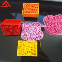 Color can be designed ABS//LDPP/LLDPE/HDPE/PP plastics masterbatch for universal plastics from China RoHs certificate