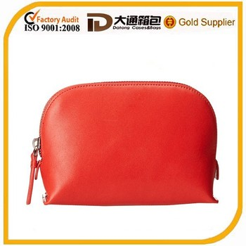Beautiful Red PU Travel Kit for Ladies on Alibaba