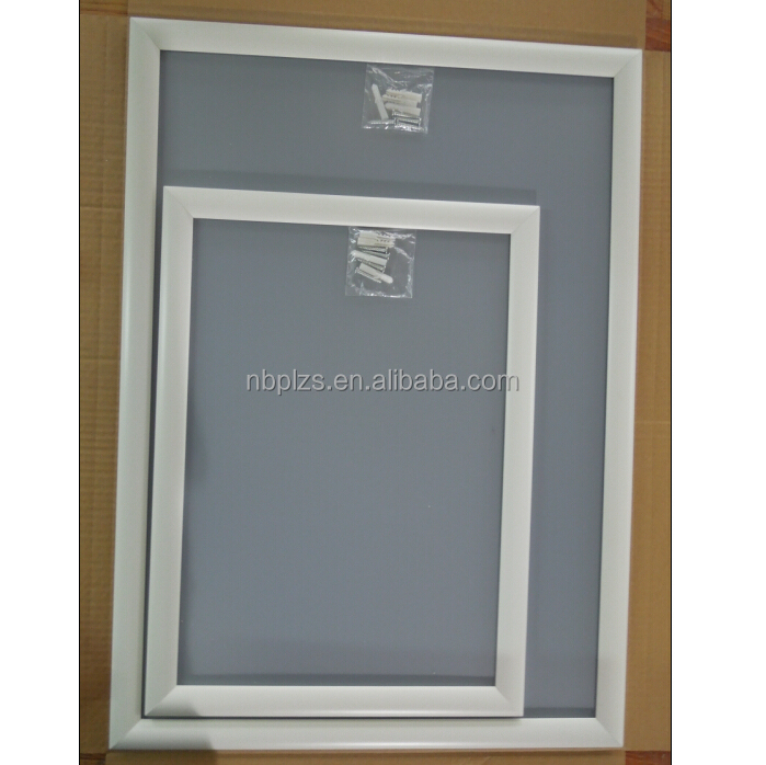 Wall mounted 25mm aluminum profile black/white/gold A0 Snap Frame poster frame