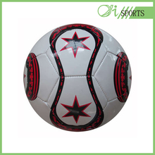 wholesale football PVC machine stiched soccer ball