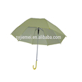 Automatic Open cheap Stick Umbrella PVC umbrella with plastic handle