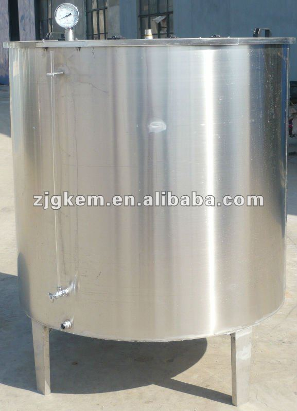 Electric heat or steam heat syrup melting tank