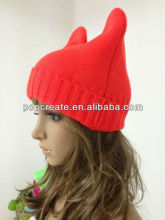 2014 cheap fluorescent hat with ear