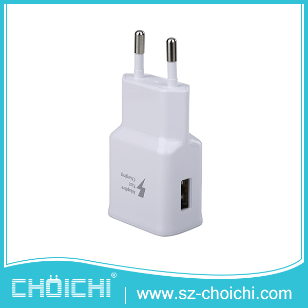 Made in China white popular EP-TA20EWE wall mobile phone charger for samsung galaxy s7