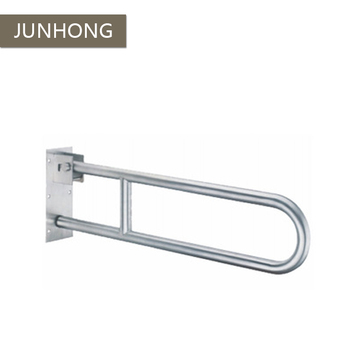 304 Stainless steel handicapped toilet folding grab bars
