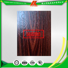 4D Top Grade Aluminium Window And Door Profiles With Wood Grain Finish