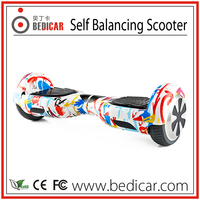 Bedicar Smart Balance Scooter Graffiti Electric Trike Scooter Chinese Factory