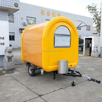 Wholesale cheap hot dog street vending mobile food van/cart