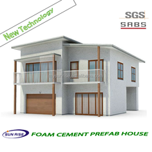Hot sale economic prefab villa / prefabricated apartments building for sale