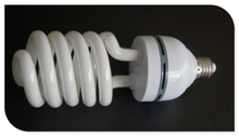 China wholesale Hot Popular Half Spiral CFL energy saving bulb 6500K for African market