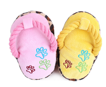 Squeaky shoe Shaped soft squeaky plush Pet Toy/DogToys/pet products for dogs
