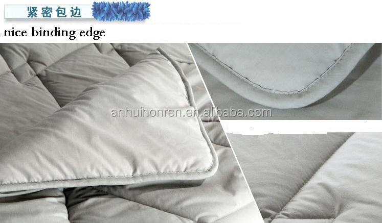 water proof anti bacterial whole sale luxury mattress protector polyester mattress pad topper - Jozy Mattress   Jozy.net