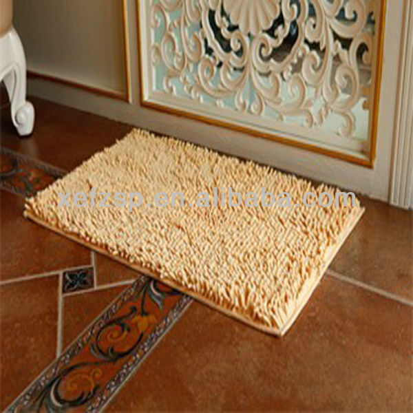 thick pile microfiber chenille new product ideas 2013