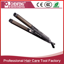 best electric titanium custom ceramic professional steam hair straightener