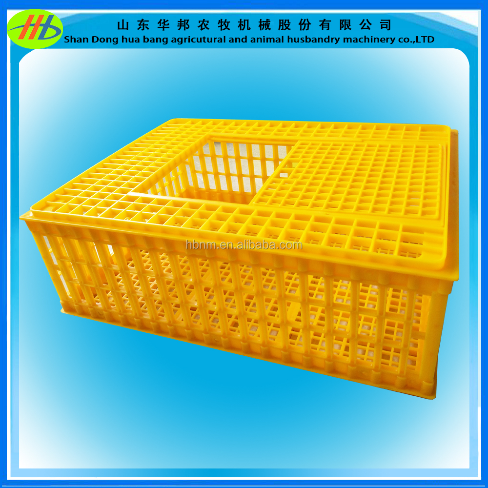 High quality live poultry plastic stackable transport crate for chicken ,duck ,goose
