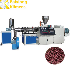 PE/PP Granulator Pelletizer Extruder Plastic Pelletizing Machine