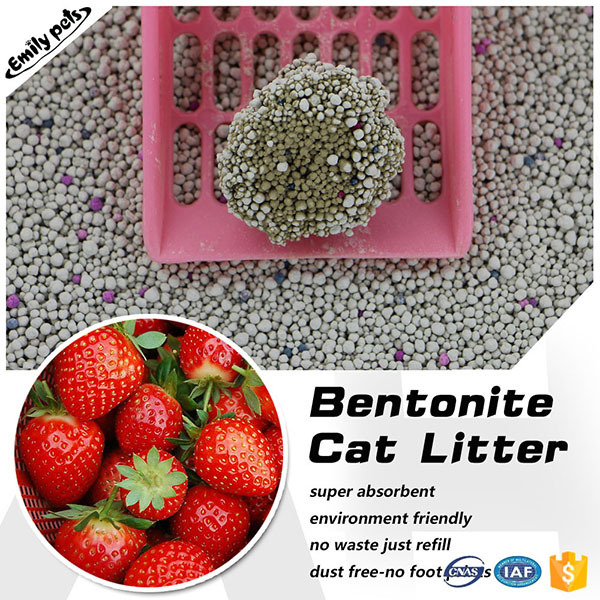 Clumping pet product luxury good quality cat sand supplier