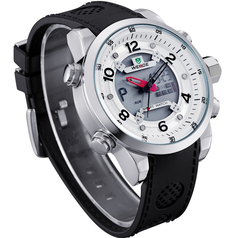 WH3315 MIYOTA Men Sports LED Display Watch