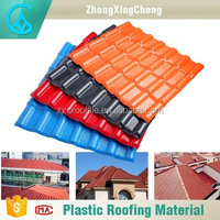best selling wholesale competitive price container roof panel ASA resin laminate roofing tile for houses
