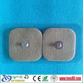 4*4cm Electrode Pads with snap on for TENS Massager, adhesive electrode gel pads