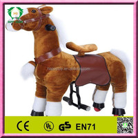 2015 HI CE /EN71 hot sale toy race horse,horse racing toy,electric horse toy