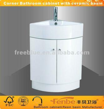 Angolo arredo bagno con lavandino in ceramica buy product on - Lavandino angolo bagno ...