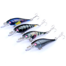Plastic Minnow Lure 4.7G 6.5Cm Fishing Baits