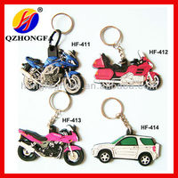 Motorcycle Cool Soft Rubber Keyrings