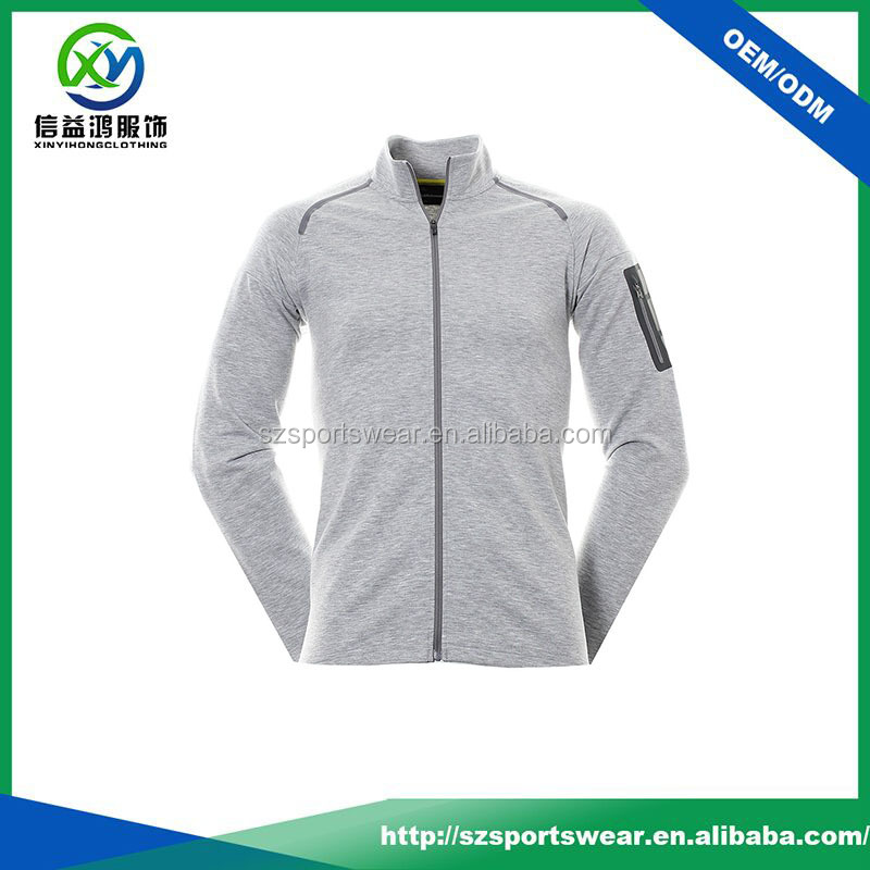 Fashion design 100% polyester dri fit soft shell jacket windbreaker sport jacket for man