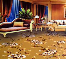 High quality with factory low price axminster carpet for 6 star hotel