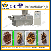 Fully Automatic Dry Method floating fish feed line organic fish feed machine on Promotion