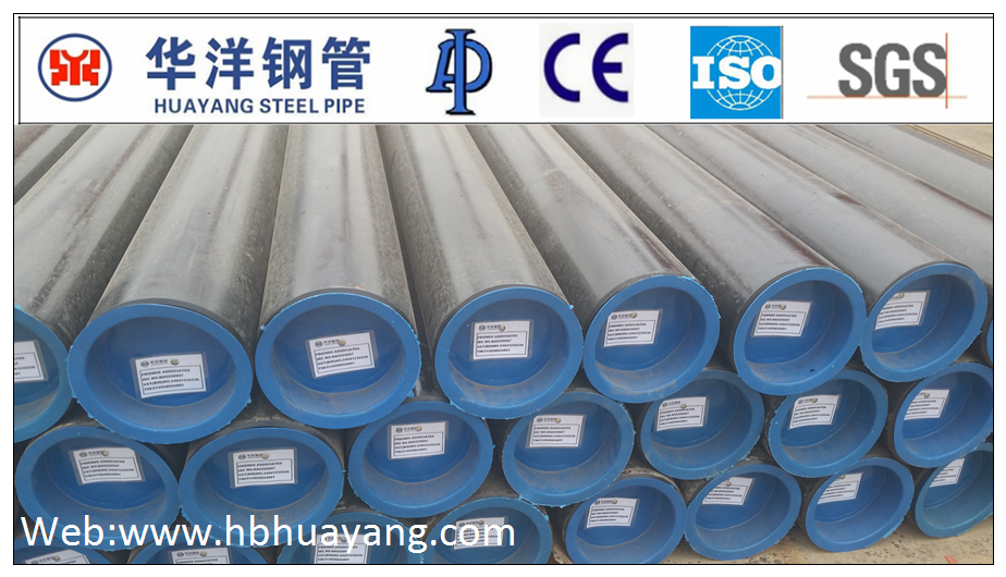 ERW API 5L Gr.B/ASTM A53Gr.B large diameter corrugated steel pipe