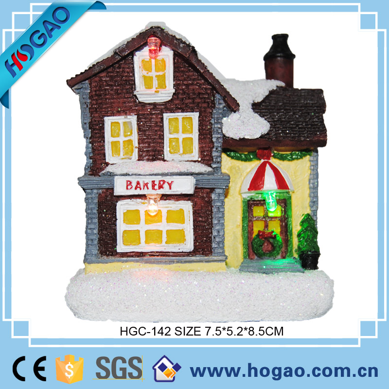 Many Models Resin Custom Christmas Ornament House