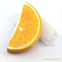 fruit orange sticky note