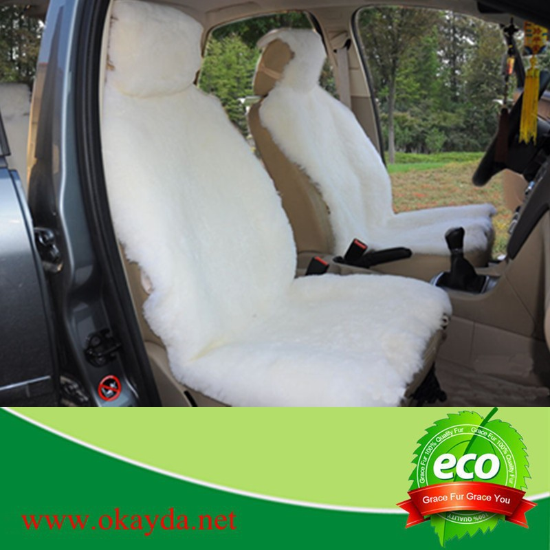 durable sheepskin car seat cushion made in China