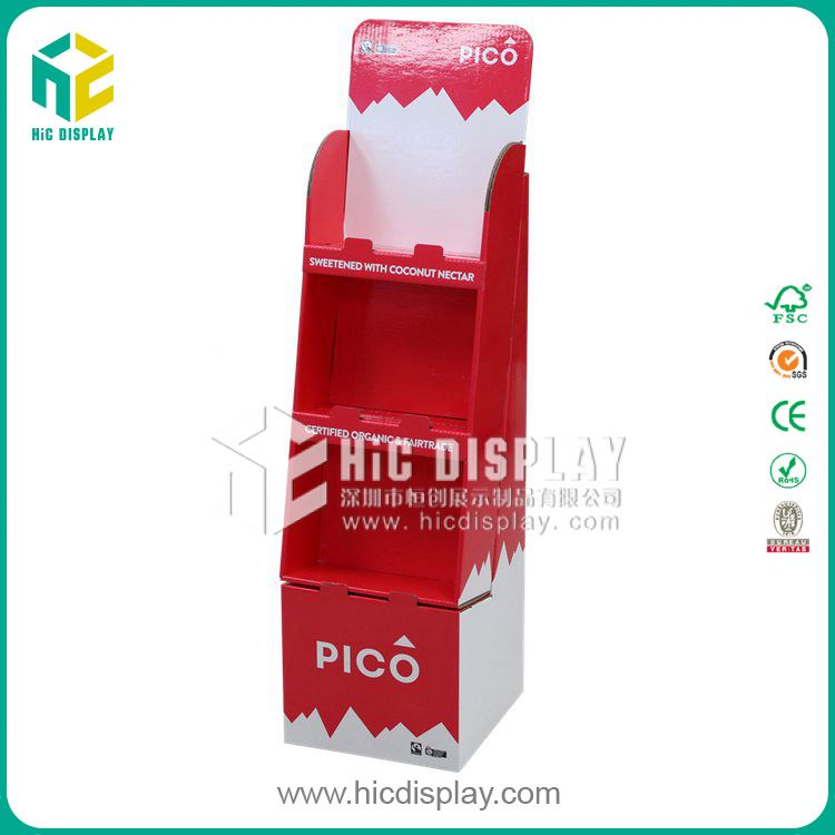 HIC chocolate lollipops candy packaging, refrigerated chocolate display shelf case